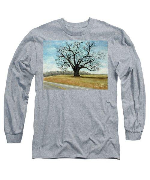 The Keeler Oak Long Sleeve T-Shirt by Lyric Lucas
