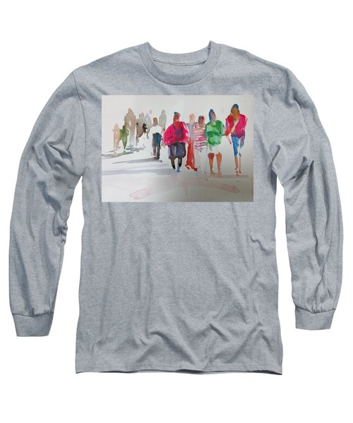 The Ladies Long Sleeve T-Shirt by P Anthony Visco