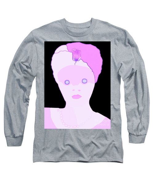The Lady Of Peacock Hill Long Sleeve T-Shirt