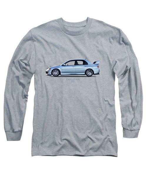 The Lancer Evolution Viii Long Sleeve T-Shirt by Mark Rogan