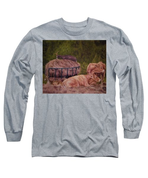 The Lazy 5 Long Sleeve T-Shirt