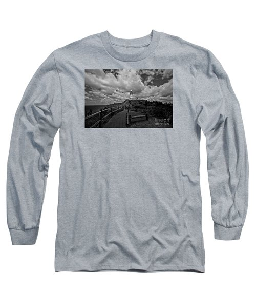 Long Sleeve T-Shirt featuring the photograph The Light House by Gary Bridger