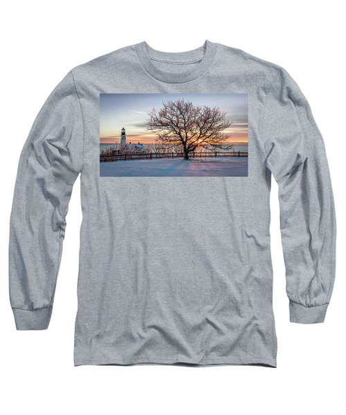 The Lighthouse And Tree Long Sleeve T-Shirt