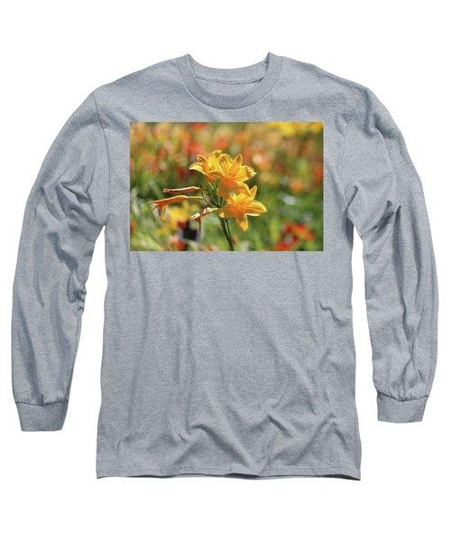 The Lilies Arrayed Long Sleeve T-Shirt