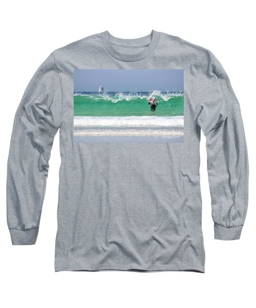 Long Sleeve T-Shirt featuring the photograph The Little Mermaid by Terri Waters