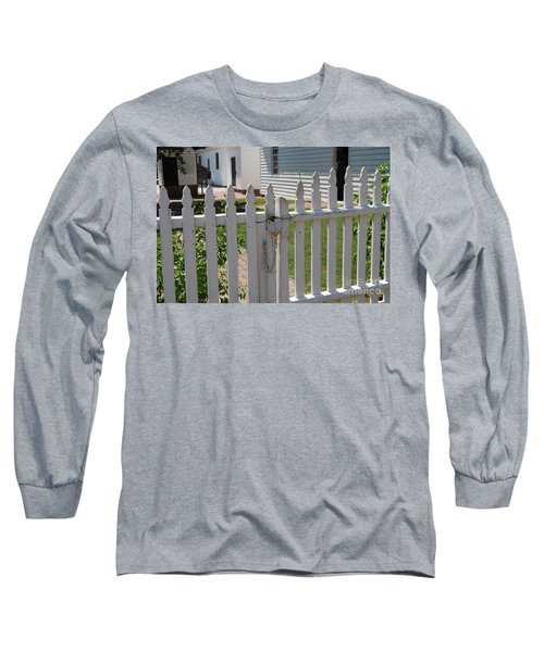 The Lock Long Sleeve T-Shirt by Eric Liller