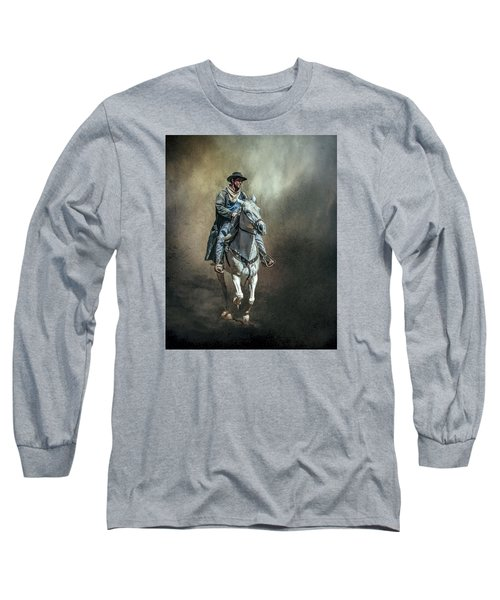 Long Sleeve T-Shirt featuring the photograph The Lone Drifter by Brian Tarr