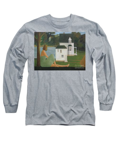 The Lonely Side Of The Lake Long Sleeve T-Shirt by Glenn Quist