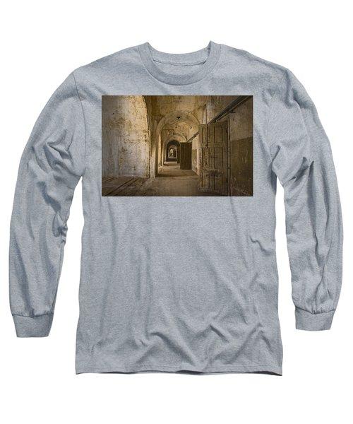 The Long Hall Long Sleeve T-Shirt by Inge Riis McDonald
