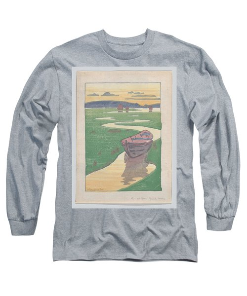 The Lost Boat , Arthur Wesley Dow Long Sleeve T-Shirt