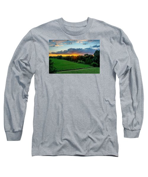 The Lower Rhine Region Long Sleeve T-Shirt by Sabine Edrissi