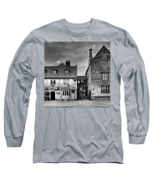 The Lygon Arms, Broadway Long Sleeve T-Shirt by John Edwards