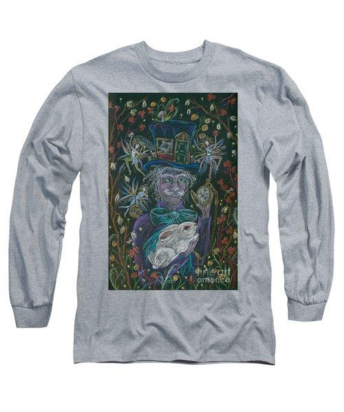 The Maddening Hatter Long Sleeve T-Shirt