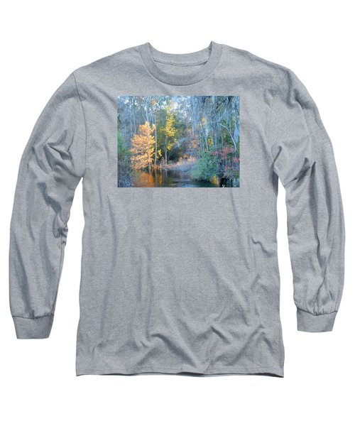The Magic Of Autumn Sunshine Long Sleeve T-Shirt by Kay Gilley