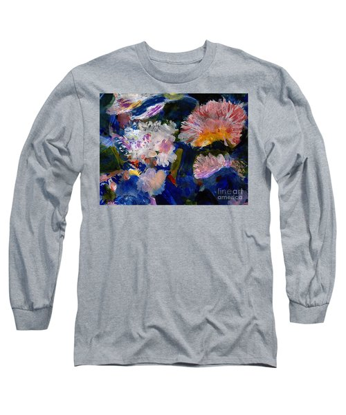 The Magic Of Flowers Long Sleeve T-Shirt by Nancy Kane Chapman