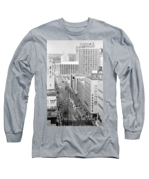 The Mall From Dayton's 12th Floor Long Sleeve T-Shirt