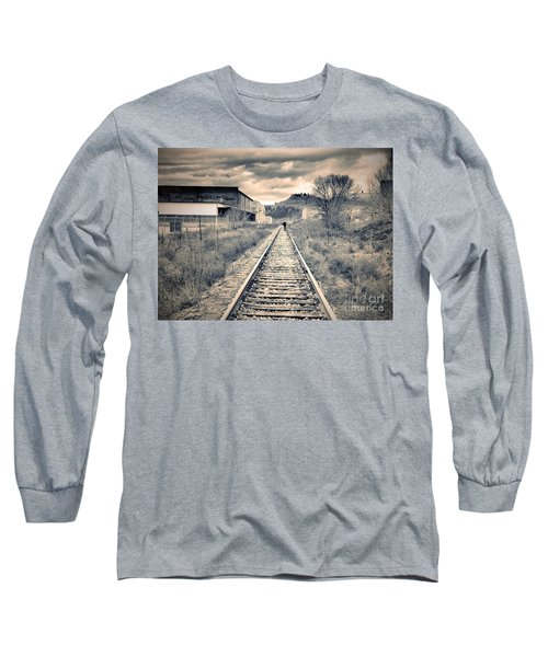 The Man On The Tracks Long Sleeve T-Shirt