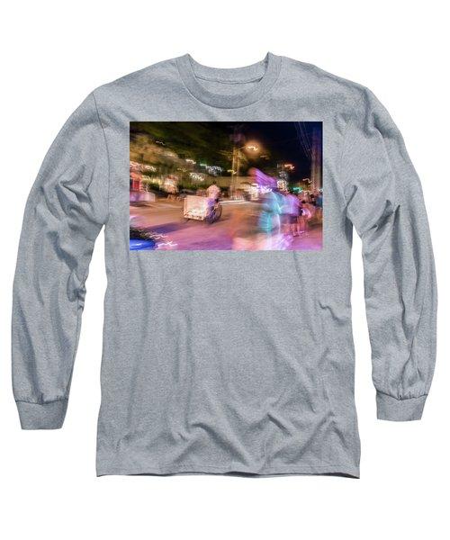 The Many Moods Of Duval Street Long Sleeve T-Shirt
