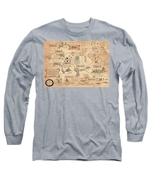 The Map Of The Enchanted Kira Long Sleeve T-Shirt