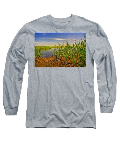 The Marshes Of Brazoria Long Sleeve T-Shirt