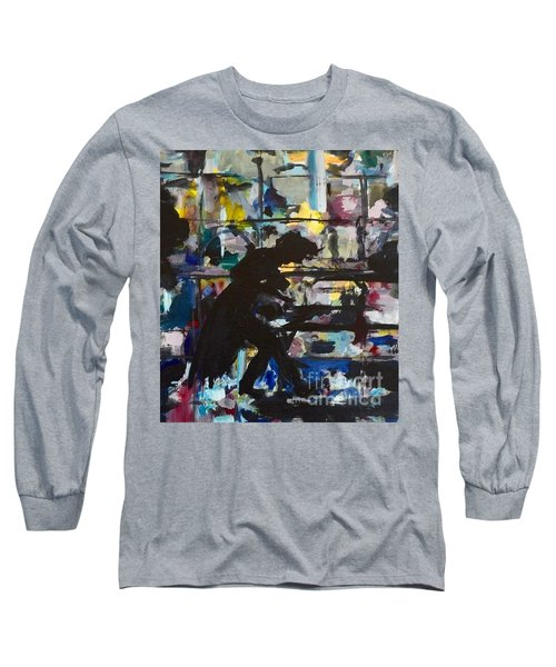 The Master Long Sleeve T-Shirt by Ellen Anthony