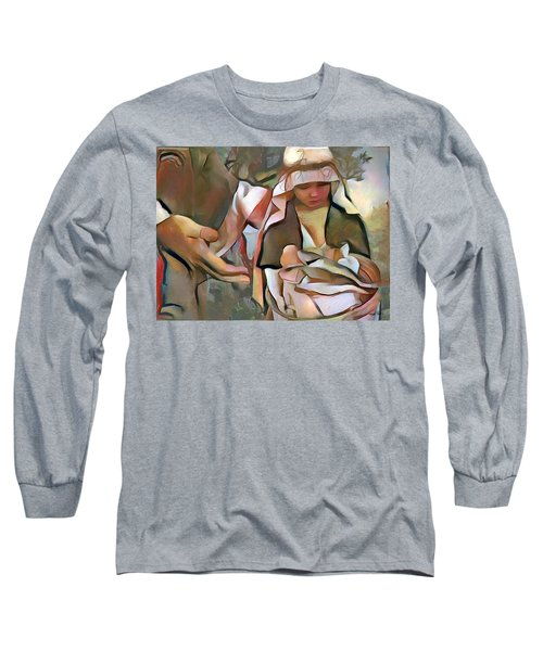 The Master's Hands - Provider Long Sleeve T-Shirt