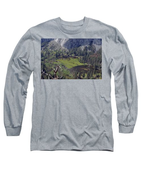 The Meadow From Four Mile Trail Long Sleeve T-Shirt