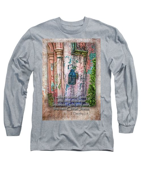The Mediator Long Sleeve T-Shirt by Larry Bishop