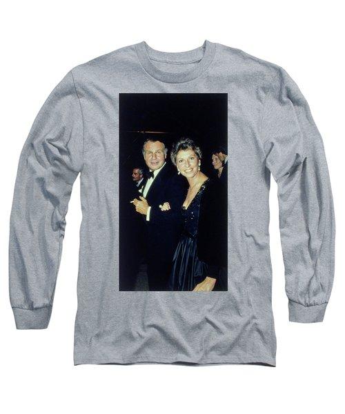 The Met Set Bill Blass And Geraldine Stutz Long Sleeve T-Shirt