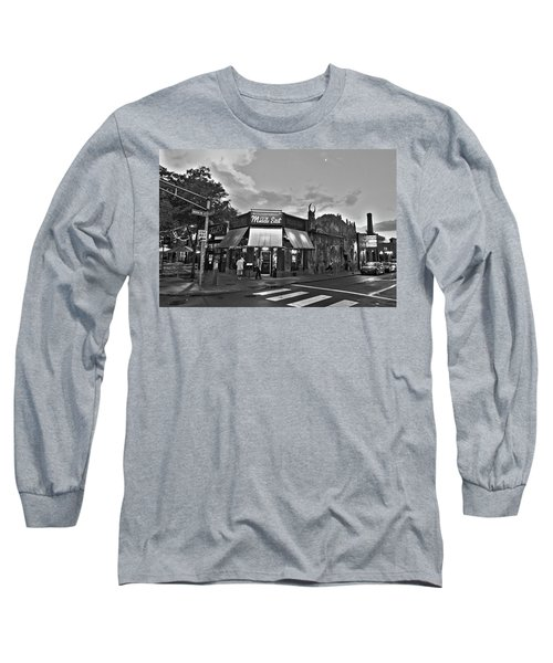 The Middle East In Central Square Cambridge Ma Black And White Long Sleeve T-Shirt