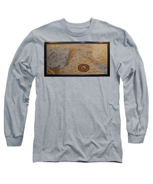Long Sleeve T-Shirt featuring the photograph The Middle East by Mae Wertz