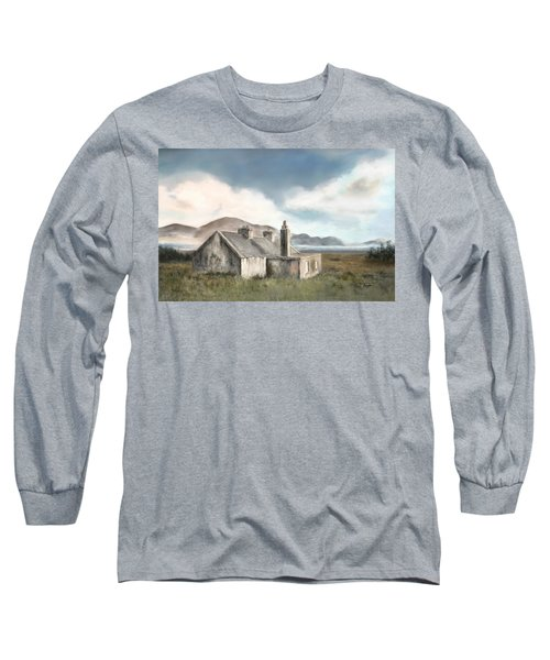 The Mist Of Moorland Long Sleeve T-Shirt by Colleen Taylor