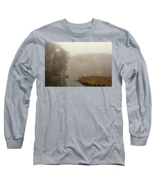 The Morning After Long Sleeve T-Shirt by Angelo Marcialis