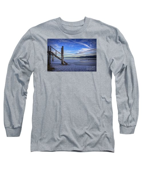 The Morning After Blues Long Sleeve T-Shirt by Mitch Shindelbower