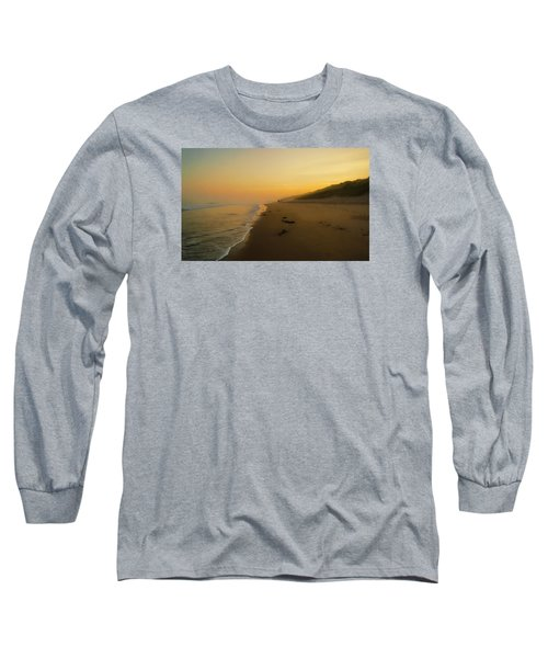 The Morning Walk Long Sleeve T-Shirt by Roy McPeak