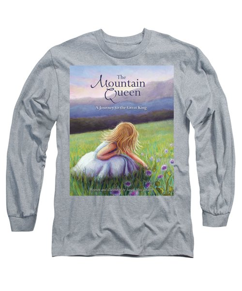 The Mountain Queen Book Cover Long Sleeve T-Shirt
