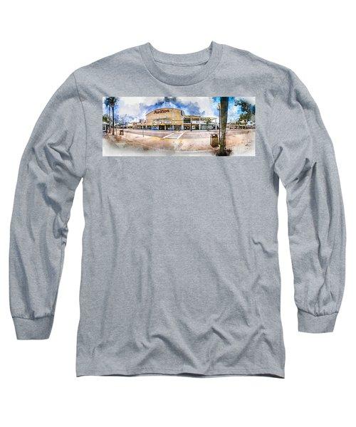 The Myrtle Beach Pavilion - Watercolor Long Sleeve T-Shirt