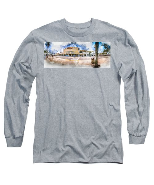 The Myrtle Beach Pavilion - Watercolor Long Sleeve T-Shirt