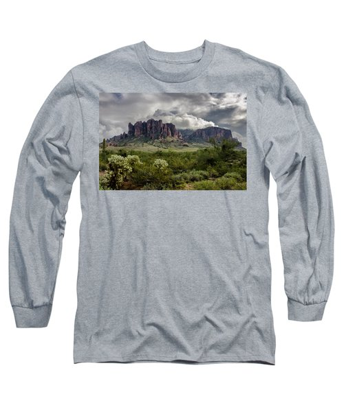 The Mystic Mountain  Long Sleeve T-Shirt