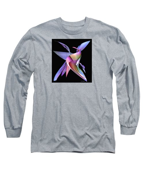 The Napkin Dance Long Sleeve T-Shirt by Iris Gelbart