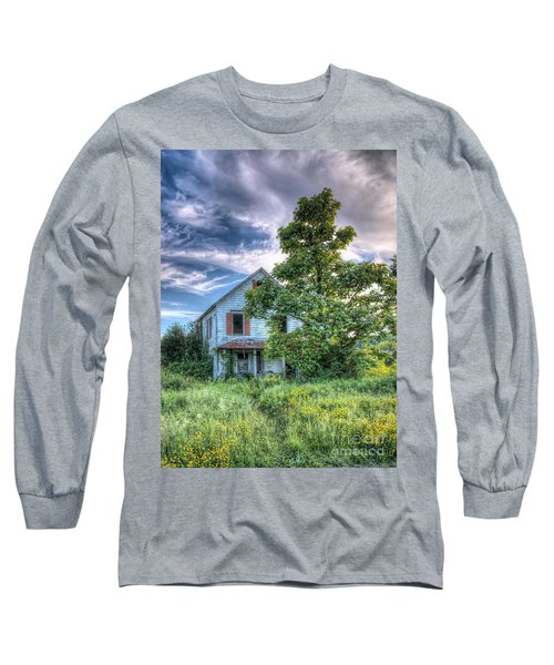 The Nathaniel White Farm House Long Sleeve T-Shirt