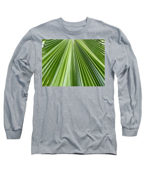 The Nature Of My Abstraction Long Sleeve T-Shirt by Russell Keating