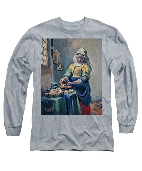The New Milkmaid Long Sleeve T-Shirt by Nop Briex