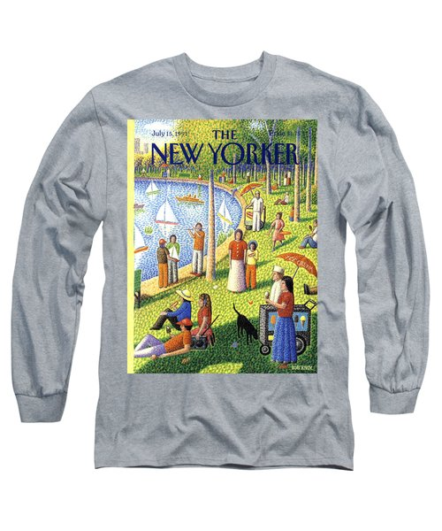 The New Yorker Cover - July 15th, 1991 Long Sleeve T-Shirt