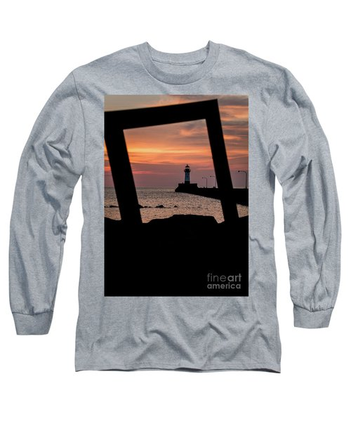 The North Pier Lighthouse Long Sleeve T-Shirt