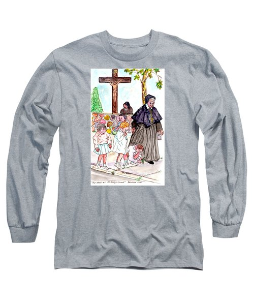 The Nuns Of St Mary's Church Long Sleeve T-Shirt