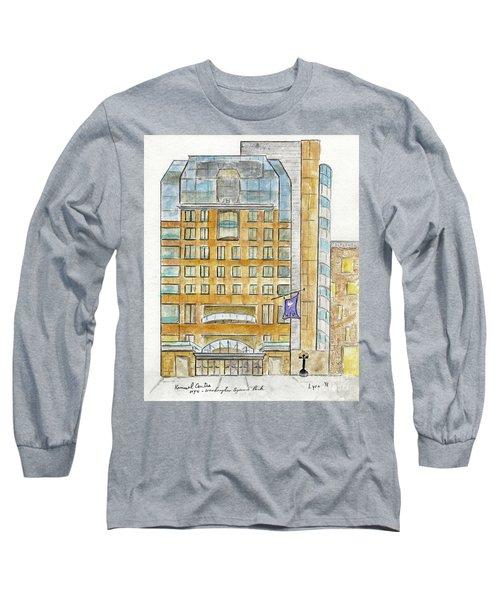 The Nyu Kimmel Student Center Long Sleeve T-Shirt by AFineLyne