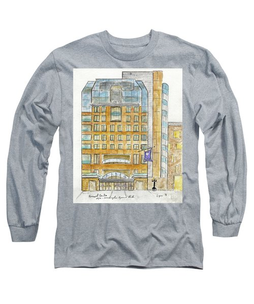 The Nyu Kimmel Student Center Long Sleeve T-Shirt