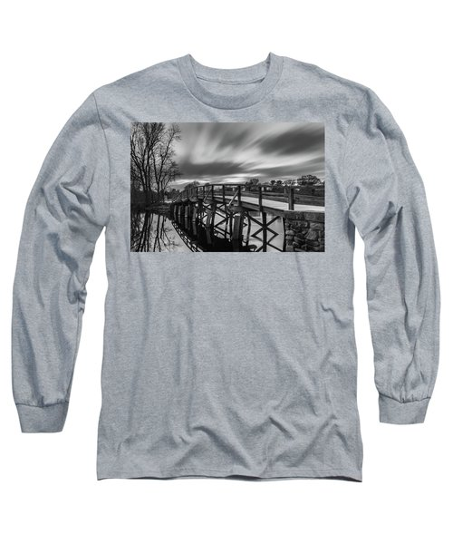 The Old North Bridge Long Sleeve T-Shirt