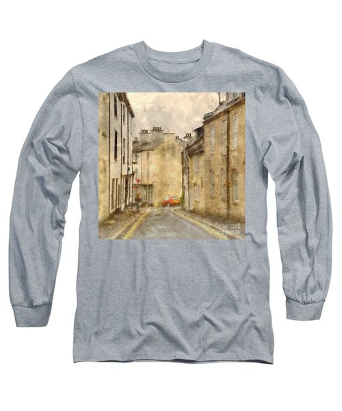 The Old Part Of Town Long Sleeve T-Shirt by LemonArt Photography